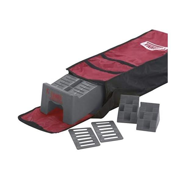 41381X07NgL Fiamma Berger Kit Level Up Set Unterleg-/Auffahrtskeil zum Bodenauslgeich +Tragetasche Ausgleichskeil