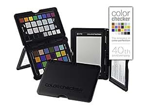 X-Rite ColorChecker Passport (MSCCPP) - Carta de calibración fotográfica de color, negro
