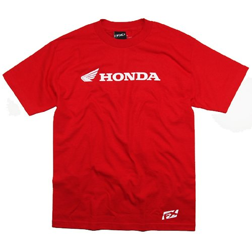 Honda Motorcycle Shirts (Factory Effex 'Honda' Horizontal T-Shirt (Red, XX-Large))