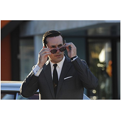 Mad Men Jon Hamm As Don Draper Looking Shocked While Removing Sunglasses 8 x 10 - Don Sunglasses