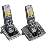 BT Freestyle 750 DECT Big Button Cordless Phone (Caller Display Version) - Answer Machine - Intercom - Amplified - Ideal for Elderly, Hard of Hearing & Sight Impaired - TWIN (Duo)