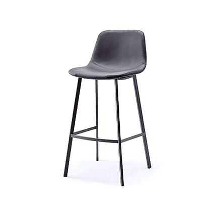 Amazon.com: Taburete de bar, moderno minimalista de hierro ...