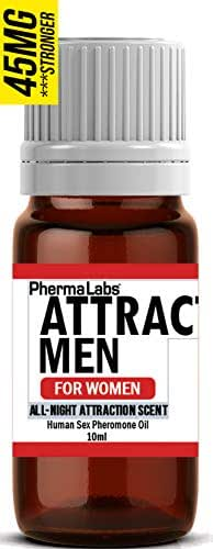 Pheromone Oil to Instantly Attract Men (All Night Scent) Human Sex Pheromones for Women 45mg
