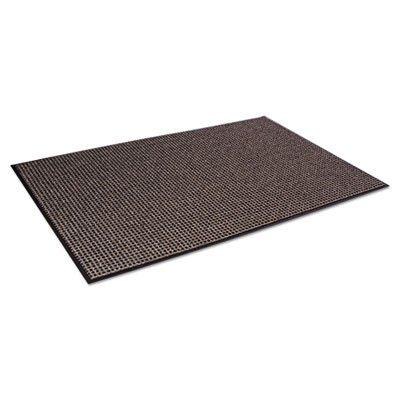 Oxford Wiper Mat, 36 x 60, Black/Brown, Sold as 1 Each