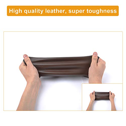 SUMURA Leather Repair Patch, Leather Adhesive Patch for Sofas, Drivers Seat, Couch, Handbags, Jackets - 8 11inch(Black)