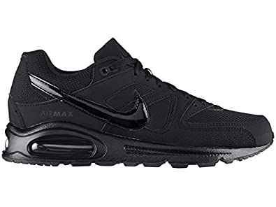 best service 21082 f736e Image Unavailable. Image not available for. Colour  Nike Air Max Command  Leather Mens Running Shoes black ...