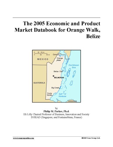 The 2005 Economic and Product Market Databook for Orange Walk, Belize pdf