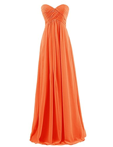 Hot Queen Kleid Orange Orange A Damen Linie zOxZqfzr