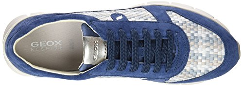 Sneakers Lt D Low a Sukie Denim Geox Grey Blau Top Womens Yq5pwz