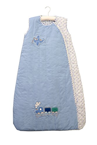 Price comparison product image SlumberSafe Baby Summer Sleeping Bag 1 Tog Planes&Trains 18-36 months LARGE