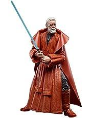 Star Wars The Black Series Ben (Obi-Wan) Kenobi 6-Inch-Scale Lucasfilm 50th Anniversary Original Star Wars Trilogy Collectible Action Figure (SIOC F28065S00)