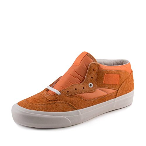 Vans Mens Half Cab Pro '92 Our Legacy Orange/White Neoprene Size 8 (Cab Pro Vans Shoe Half)