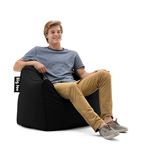 Big Joe 0672602 Hug Chair, Stretch Limo Black Smartmax