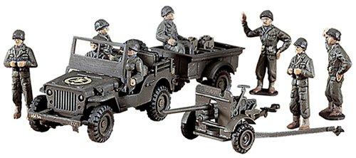 - HASEGAWA 31101 1/72 U.S. Jeep Willys M.B./Cargo/37mm Gun