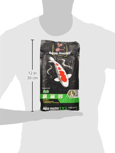 Image of Aqua Master Staple Fish Food, 2.2-Pound/bag, Large