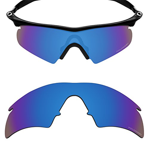 Mryok+ Polarized Replacement Lenses for Oakley M Frame Hybrid - Pacific (Pacific Hybrid)