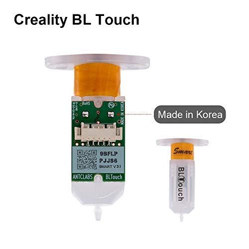 Creality BLTouch V1 Auto Bed Leveling Sensor Kit Accessories for Creality Ender 3// Ender 3 Pro//Ender 5//Ender 5 Pro//CR 10//CR-10S4//S5//CR20 with 8 Bit V1.1.5 //V1.1.4 Mainboard 3D Printer