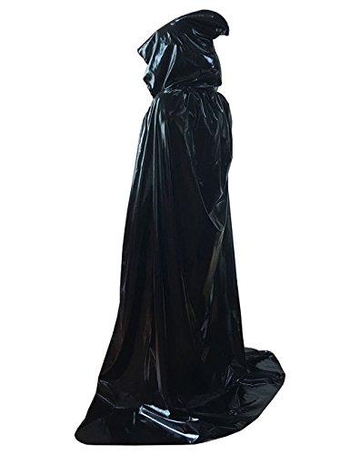 Ourlove Fashion Halloween Christmas Magic Devil Long Vampire Hooded Cloak Fancy Dress Costume Cape 59