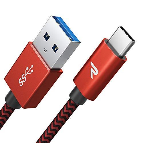 RAMPOW Braided USB C