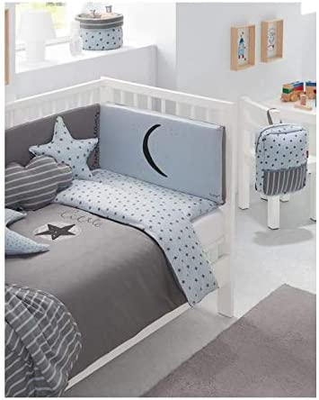 Baby Clic B30232510 color azul unisex Funda n/órdica para cuna