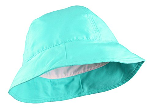 Hat Turquoise Blue (Fully Lined Bucket Hat)