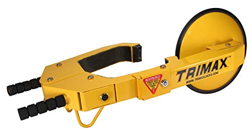 Trimax TWL100 Yellow Wheel Lock (Club Tire Claw)