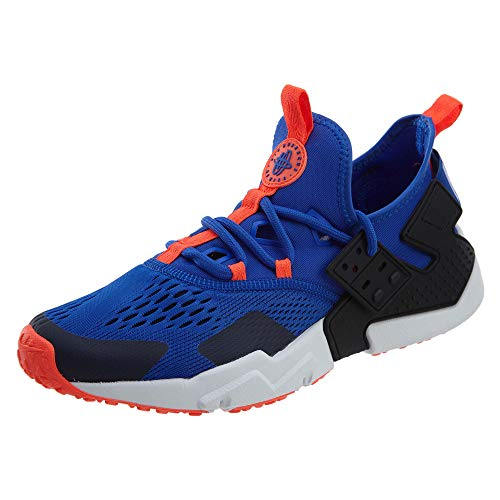 Drift Black Air Huarache Racer Trainers Nike Breathe 44 Mens EU Blue Mesh 70wq5gx