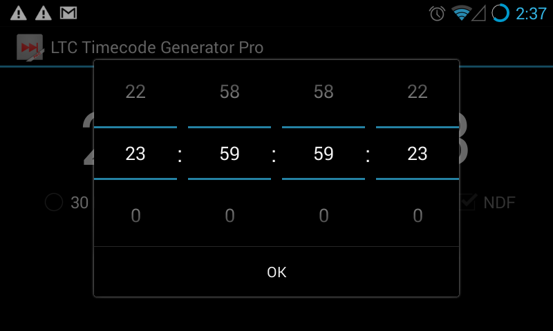 LTC Timecode Generator Pro: Amazon com au: Appstore for Android