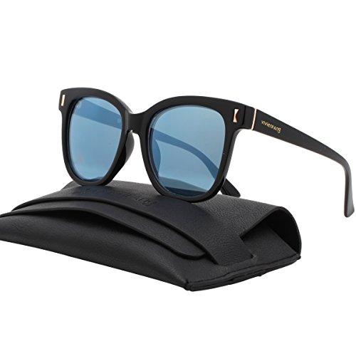 Korean Fashion Mirror Lens Oversized Square Sunglasses For Unisex P2222C - Gentle Monster Sunglasses Amazon
