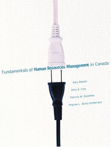 Download Essentials of Human Resources Management in Canada ebook