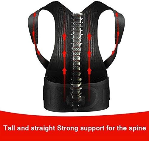 女性のための調節可能な背中の姿勢矯正 - 姿勢ブレース肩腰椎腰部腰部矯正ベルトベルト改善腰痛痛み軽減 (Color : S)