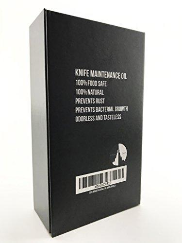100% Natural Food Grade Knife and Blade Maintenance Oil, 1.69oz by Citadel Black by Citadel Black (Image #4)