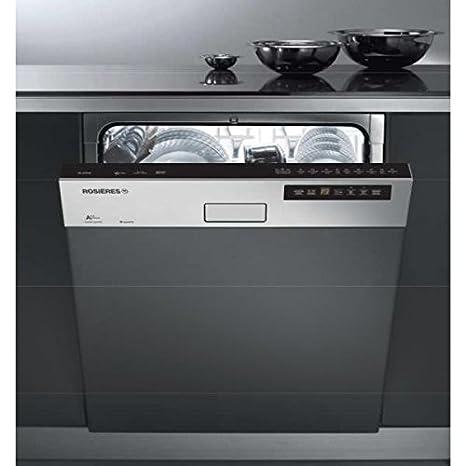 Lavavajillas integrable 60 cm Rosieres - rli 2 D 62 x ...