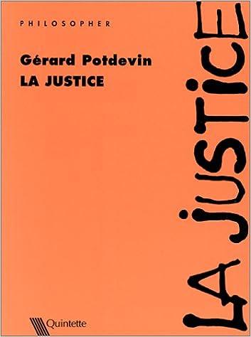 Livres gratuits La Justice pdf epub