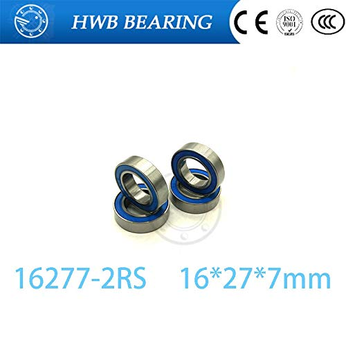 Ochoos Bicycle hub Bearing 16277-2RS, MR16277-2RS for Chin Haur Disc/HH Series hubs & A2Z XCR/XCF Series hubs 16277 ()