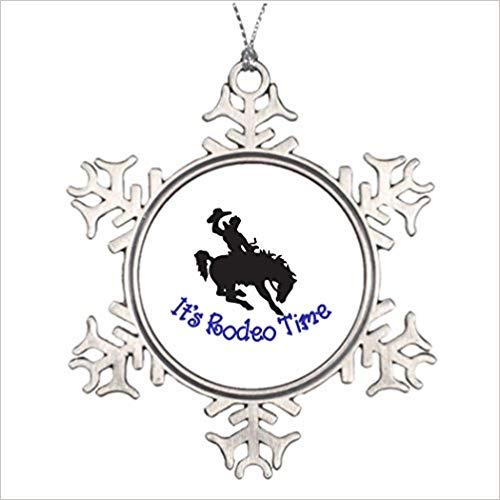 Amazon Com Cheyan Its Rodeo Time Christmas Designs Horse Christmas
