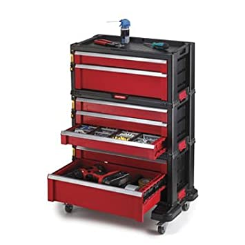 Captivating Keter 7 Drawer Modular Tool Storage System