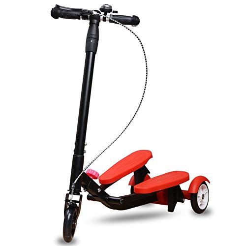 子供用スタンピードスクーターレッド B07R9S1MFY、軽量ハンドブレーキとベルが付属 B07R9S1MFY, 和田町:6c3a01d4 --- instruments.paddymartin.com