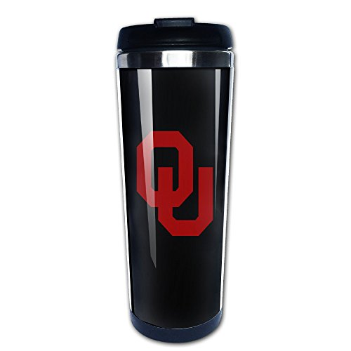 Oklahoma Sooners Stainless Steel Thermos - 8