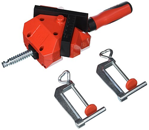 Bessey Tools WS-3+2K 90 Degree Angle Clamp for T Joints and Mitered Corners (Bessey Angle Clamp)