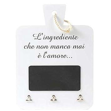 Bakaji Lavagnetta Promemoria Per Appunti Lavagna Memo Cucina ...