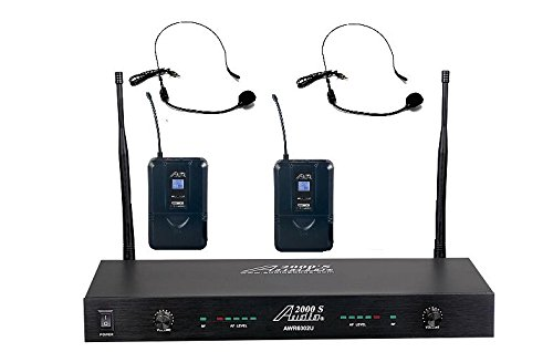 Audio2000'S AWM6002UH UHF 2-Channel Wireless Headset System