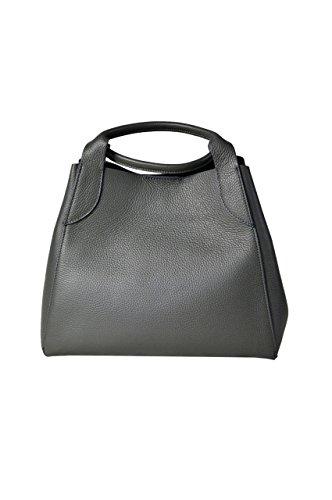 LuanaRomizi.com 8080P18IB - Bolso de asas para mujer gris
