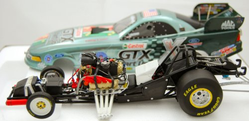 Action - NHRA - Castrol GTX Start Up Next Generation - John Force - 1:24 Scale - 2005 Ford Mustang Funny Car - Liquid Color: Very Rare - 1 of 108 - Die Cast - Mint - Collectible