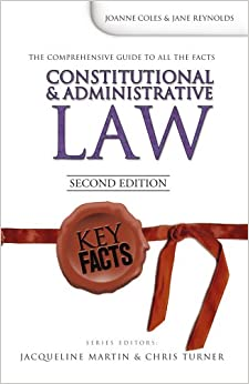 Book Key Facts: Constitutional and Administrative Law Second Edition
