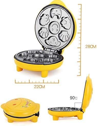 Gaufrier, Mini Antiadhésifs Double Face Chauffage Muffin Maker Accueil Facile À Utiliser Facile À Nettoyer Cartoon Gâteau Maker Pour Le Petit Déjeuner Déjeuner Rafraîchissements