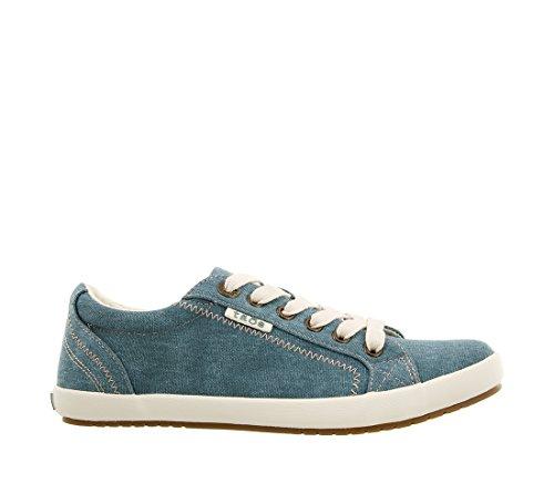 Teal Women's Canvas Sneaker Fashion Footwear Star Taos Wash 8wqX5