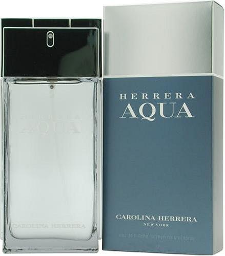 Herrera Aqua By Carolina Herrera For Men. Eau De Toilette Spray 1.7 Ounces