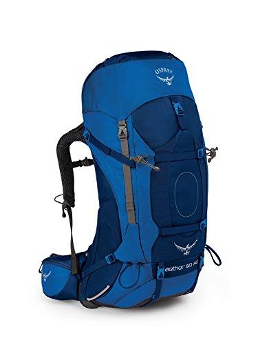 Osprey Packs Aether Ag 60 Backpack, Adriondack Green, Md, Adirondack Green, Medium