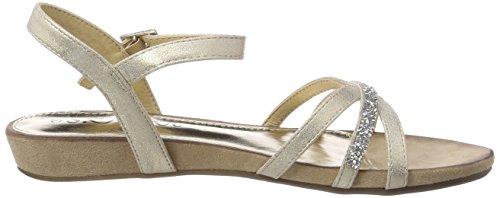 lt Back oliver Gold Women''s Gold Sandals 28112 S Sling gw0WSIqff
